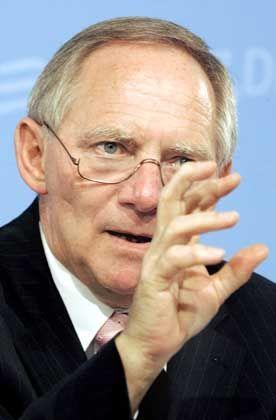 Schäuble: Zugriff auf die Freiheitsrechte?