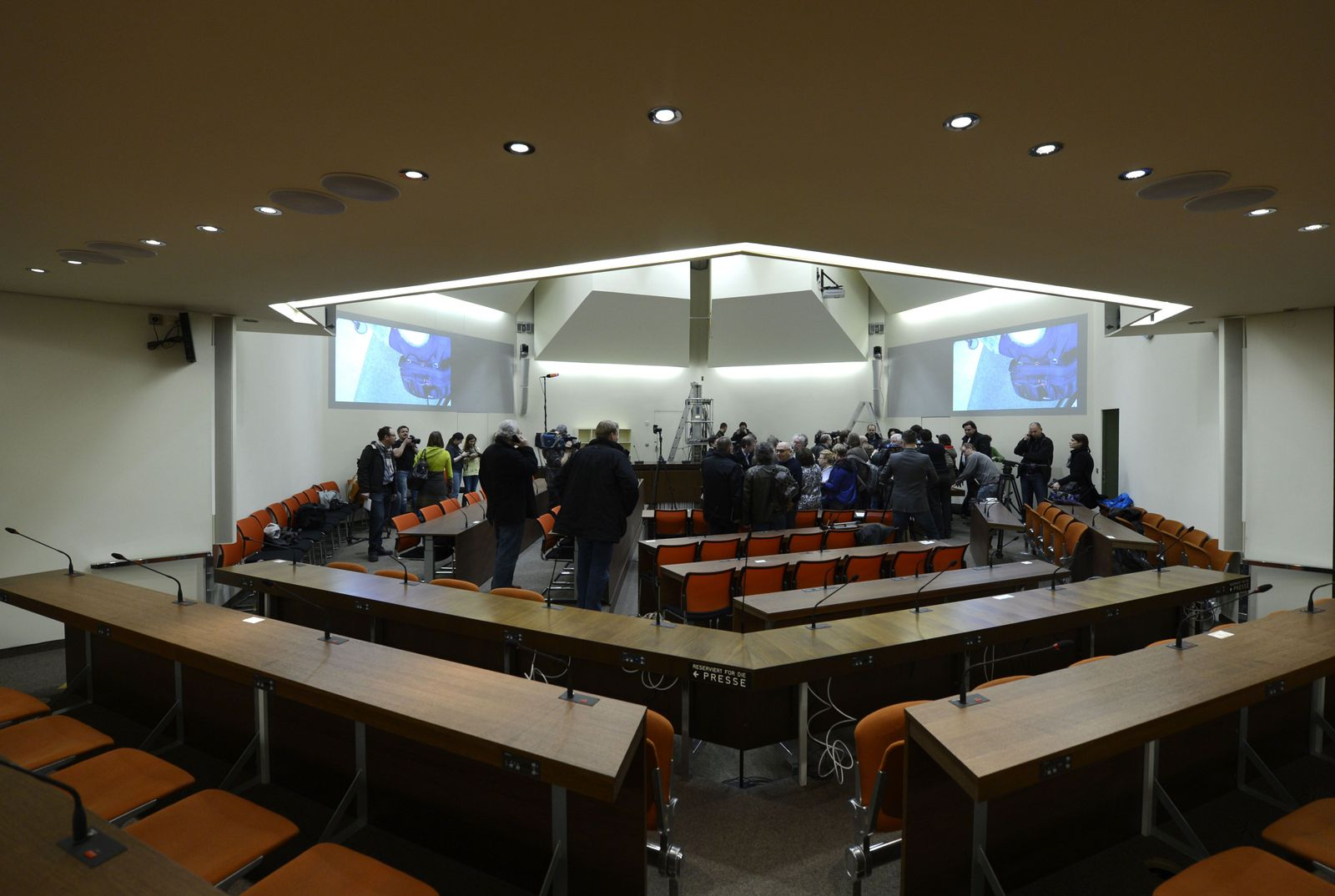 NSU-Prozess/ Gerichtssaal