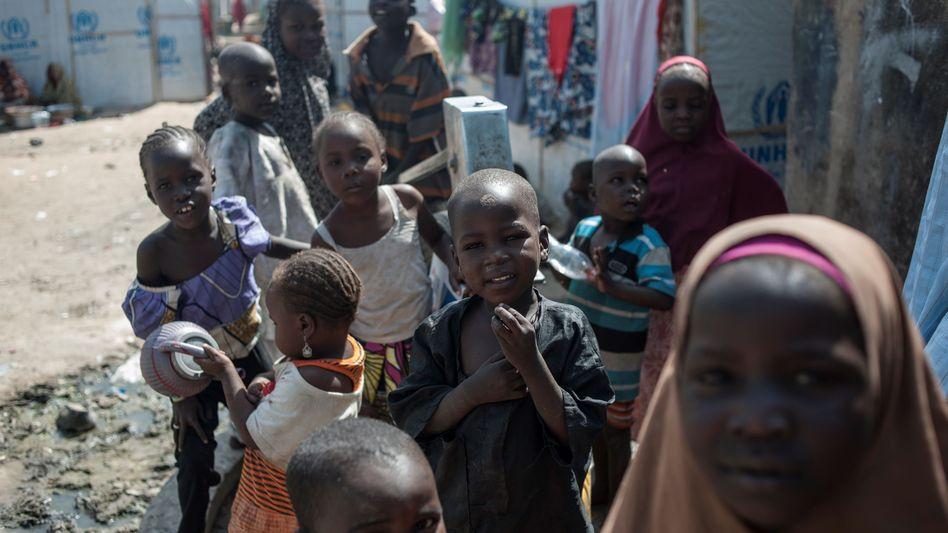 Kinder in Maiduguri, Nigeria