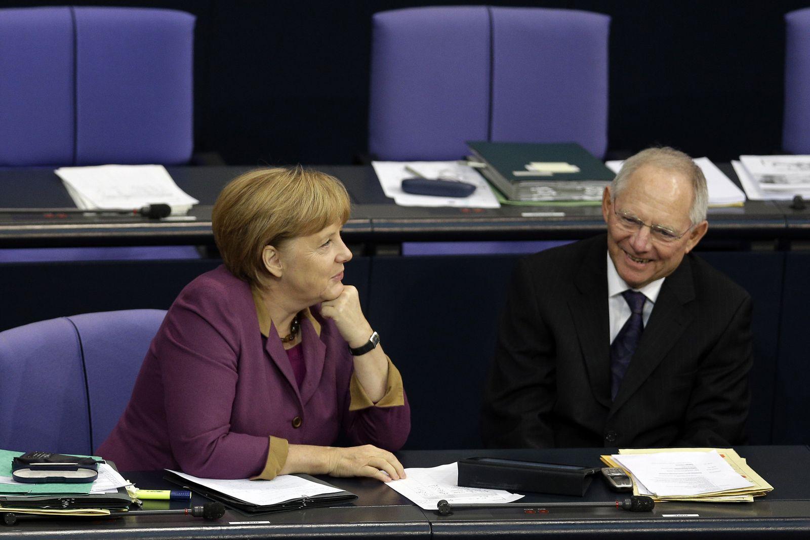 Merkel/ Schäuble