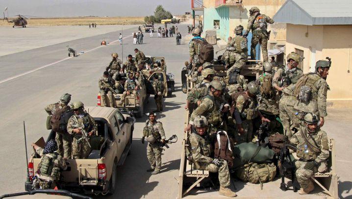 Erobertes Kunduz: Terroristen im Rotkreuz-Jeep