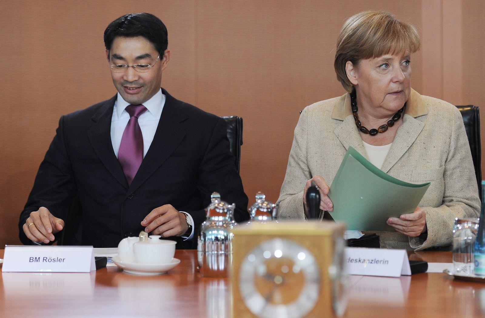 NICHT VERWENDEN Rösler / Merkel