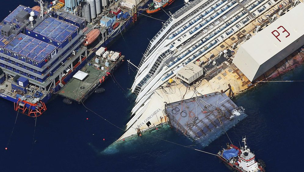 """Bergung der """"Costa Concordia"""": Der Alles-oder-nichts-Moment"""