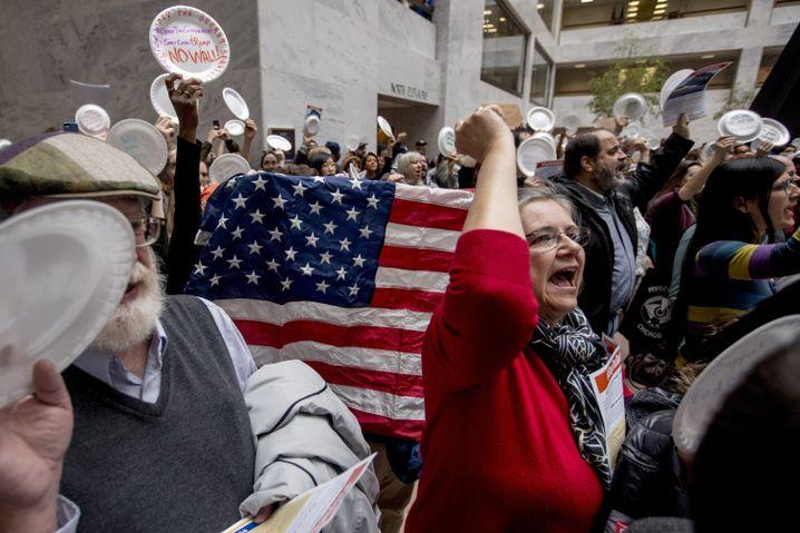 Shutdown-Proteste