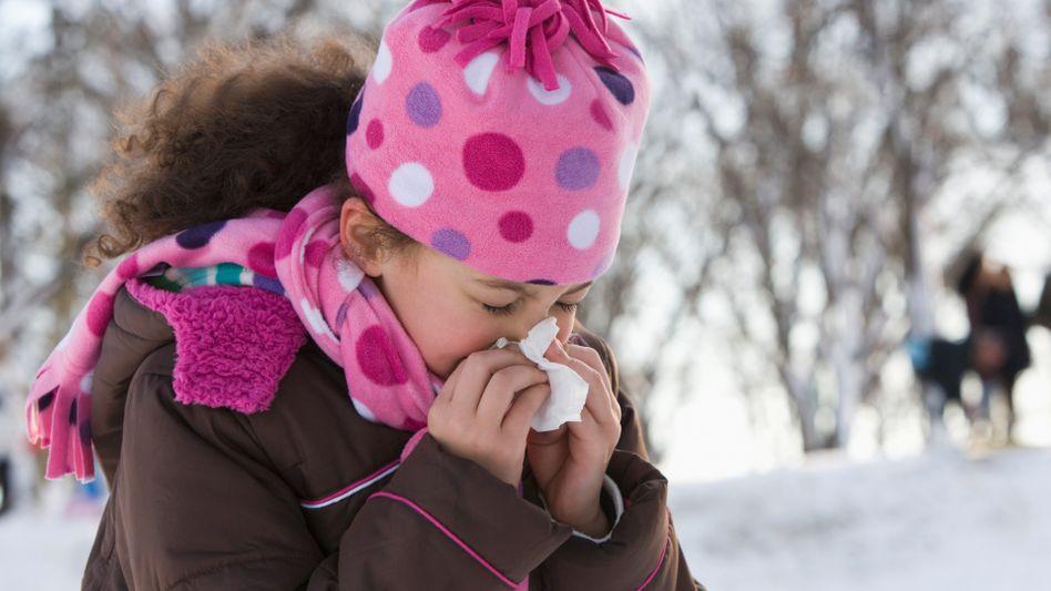 Schnäuzer ins Taschentuch: Führt Kälte zu Erkältungen?