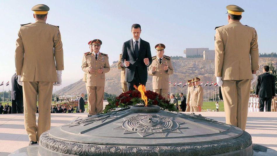 """Syrischer Präsident Assad: """"Sieg der Opposition ist nicht mehr auszuschließen"""""""