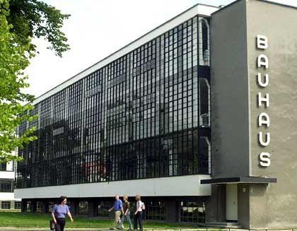 Bauhaus Dessau: Die Nazis vertrieben die Bauhaus-Künstler nach 1933