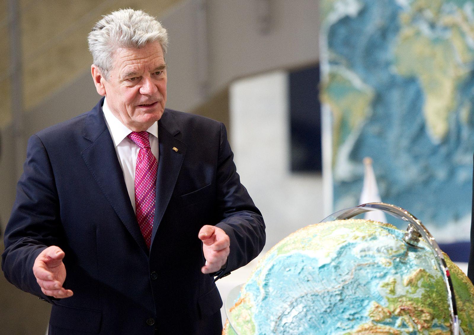 Bundespräsident Gauck besucht Schleswig-Holstein