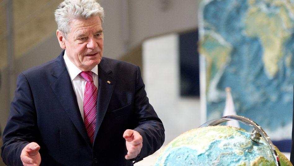 """Bundespräsident Gauck in Kiel: """"Unheilige Tradition jahrhundertealter Diskreditierung"""""""