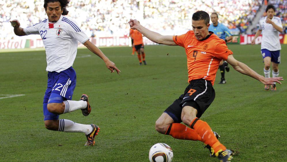 Sieg gegen Japan: Sneijders Schuss, Kawashimas Patzer