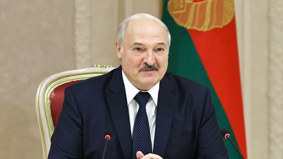 Alexander Lukaschenko in Minsk