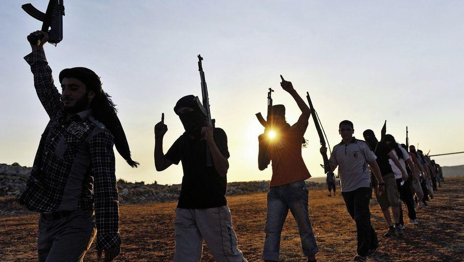 Dschihadisten in der Nähe von Aleppo