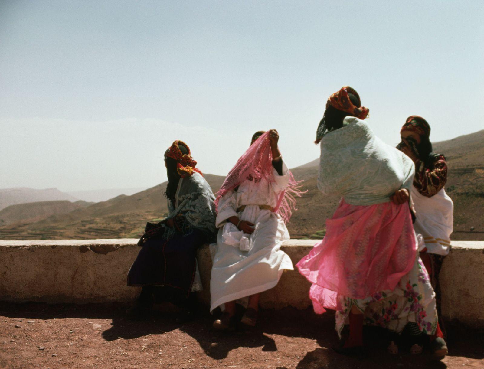 NICHT MEHR VERWENDEN! - Berber-Frauen / Marokko