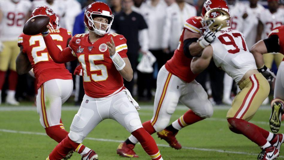 NFL-Finale: Kansas City Chiefs gewinnen Super Bowl gegen San Francisco 49ers