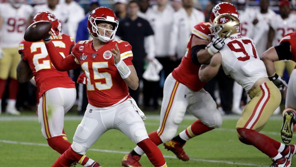 Patrick Mahomes sicherte den Kansas City Chiefs den ersten Super-Bowl-Sieg seit 1969