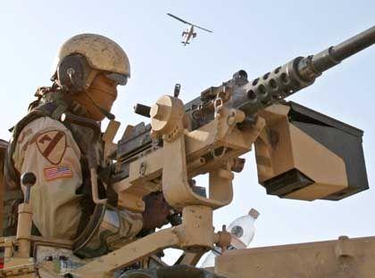 US-Soldat im Irak: Uno fordert politischen Prozess statt Gewalt
