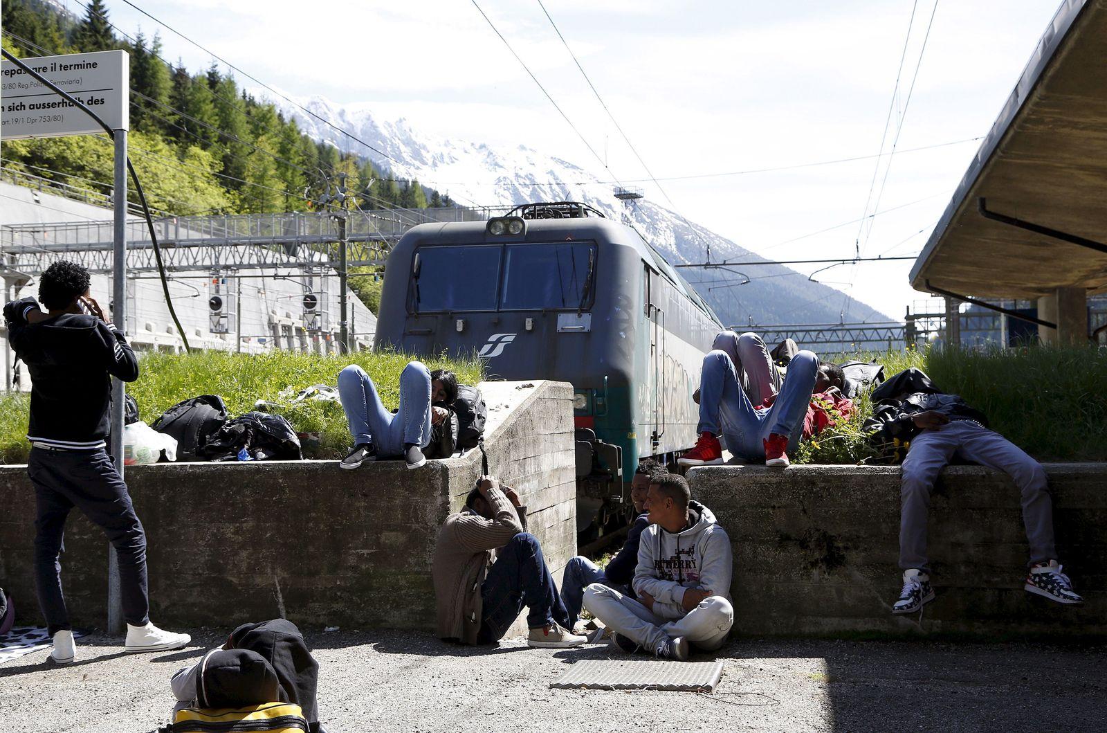Österreich/ Ialien/ Flüchtlinge