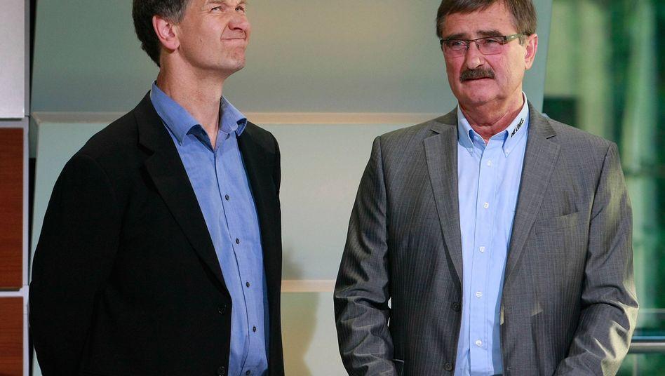 Grünen-Politiker Ulrich und Linken-Mann Linsler: Animositäten zwischen beiden Parteien