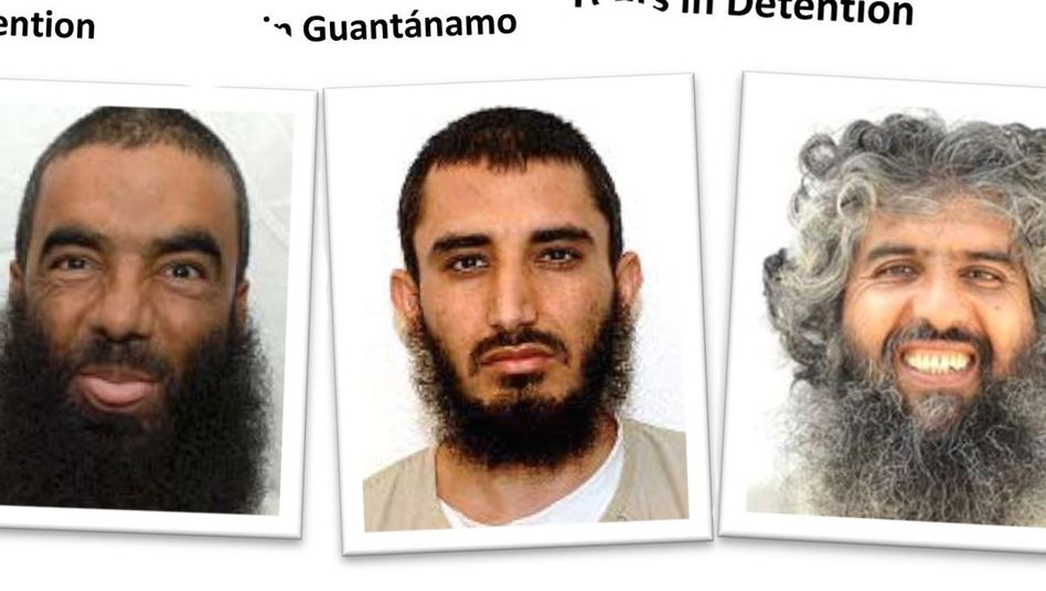 Guantanamo-Häftlinge Haji Wali Mohammed, Kafka Abduk Zahir, Obaidullah, Kafka-Hamidullah
