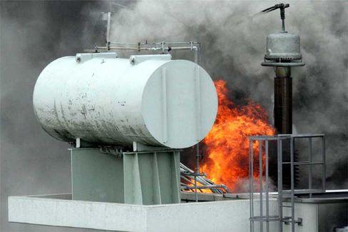 Kernkraftwerk Krümmel (am Donnerstag): Trafobrand mit Folgen