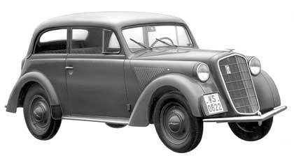 Opel Olympia: Das erste deutsche Großserienmodell mit selbst tragender Karosserie, Baujahr 1935