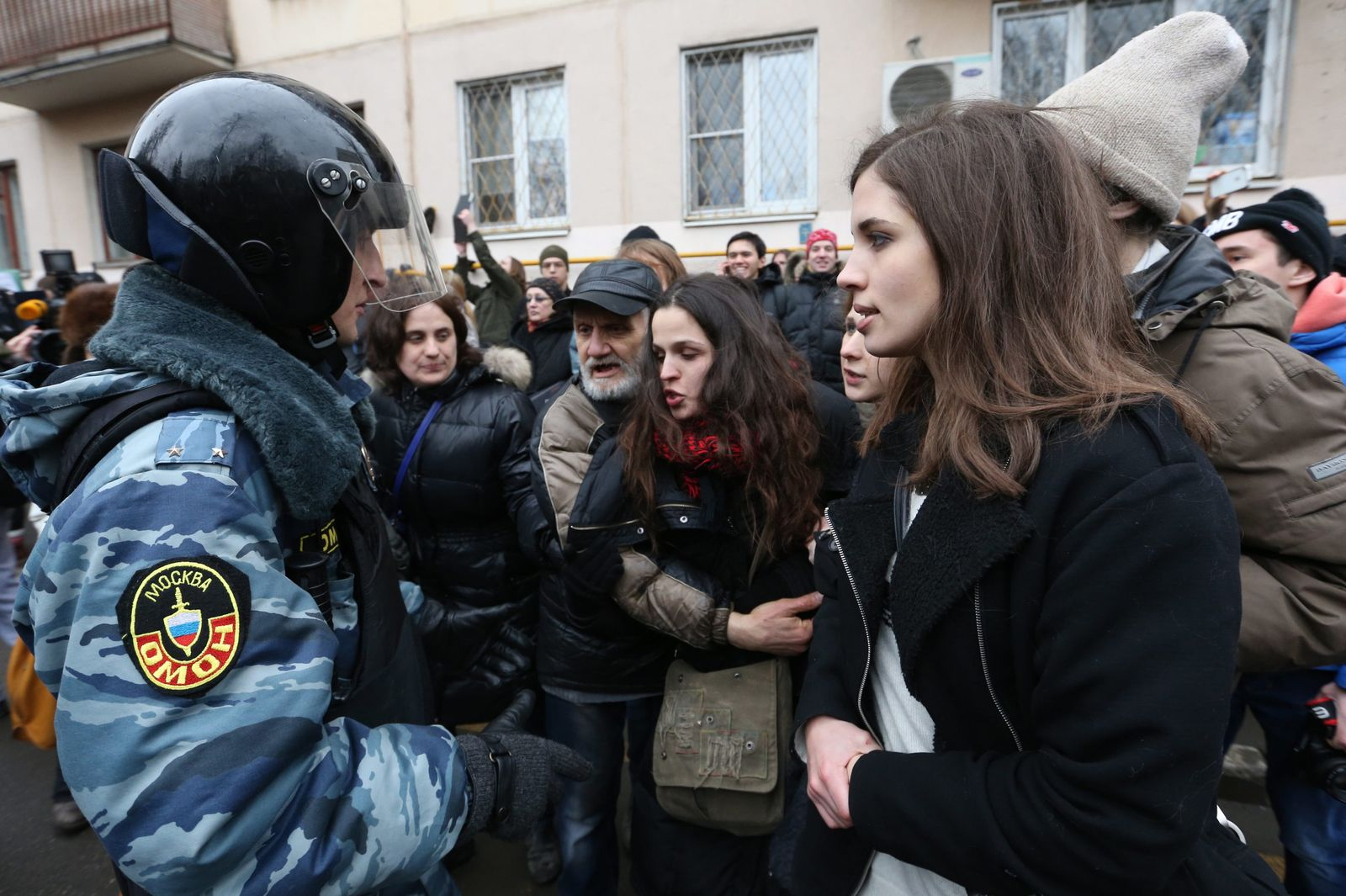 Protest action in Moscow