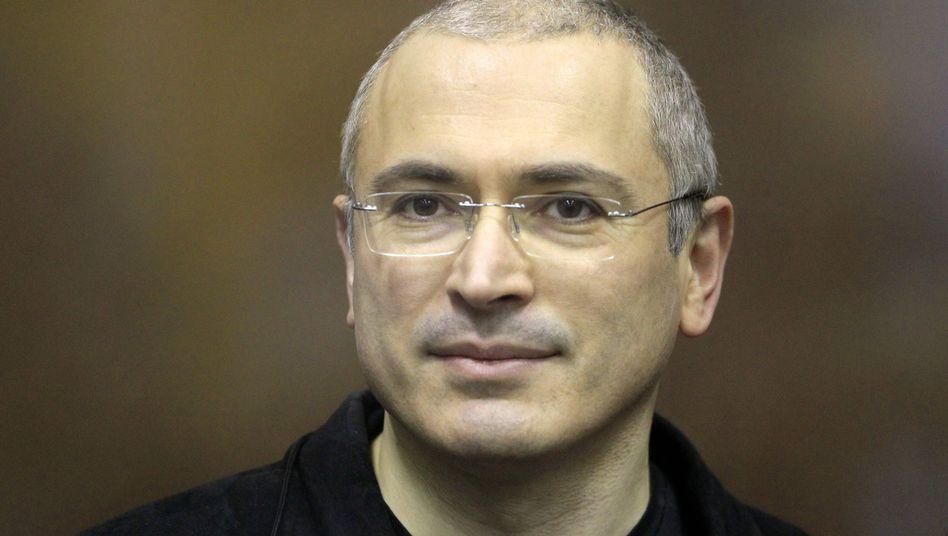 Kreml-Gegner Chodorkowski: Schriftlicher Dank an Unterstützer