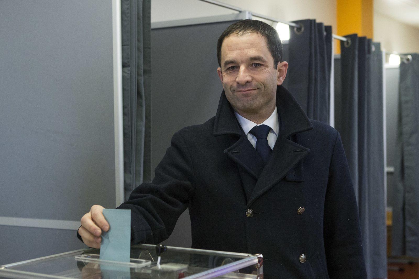 Frankreich Vorwahl der Linken