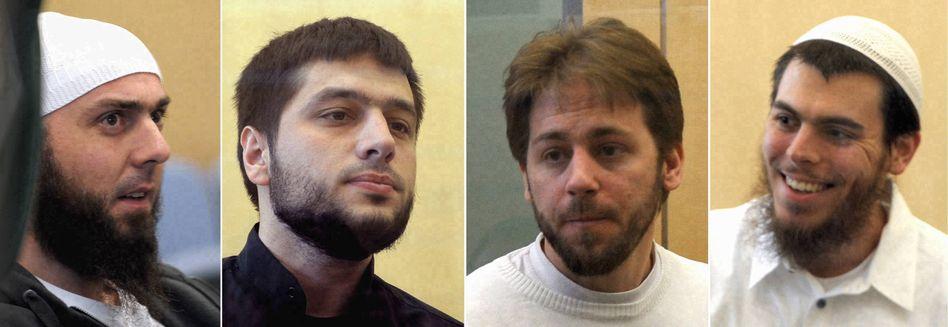 Drei Angeklagte der Sauerland-Gruppe: Verfahren teilweise eingestellt