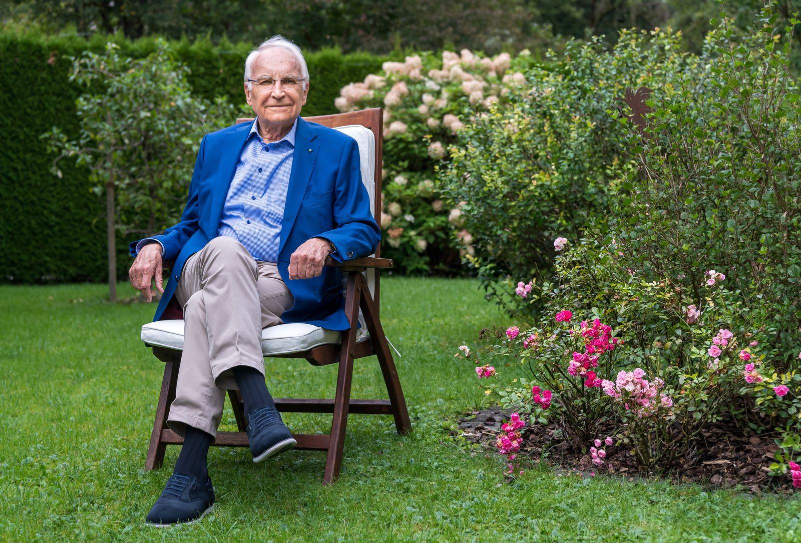 Edmund Stoiber wird 80 Jahre alt