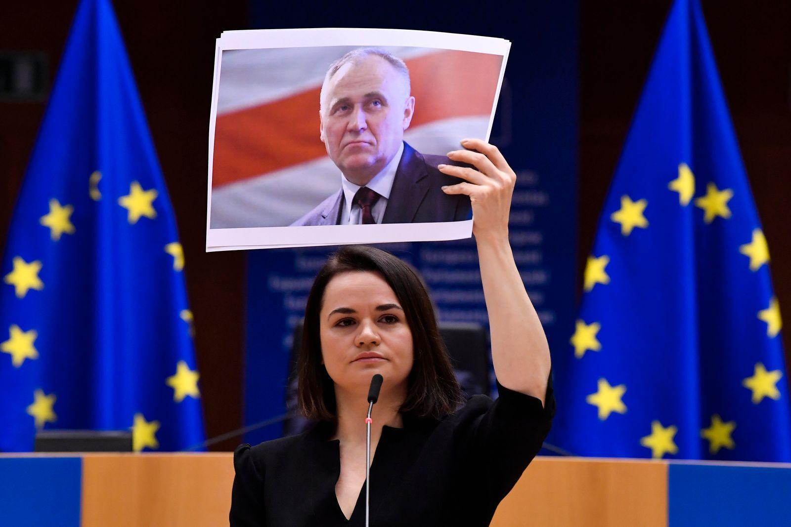 Belarussische Oppositionelle empfangen Sacharow-Preis