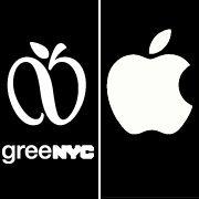 """Umweltlogo und Applelogo: Der """"Unendlichkeitsapfel"""" soll für Umweltschutz werben"""