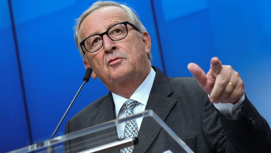 Brexit-Debatte im Minutenprotokoll: Juncker fordert Erklärungen aus London