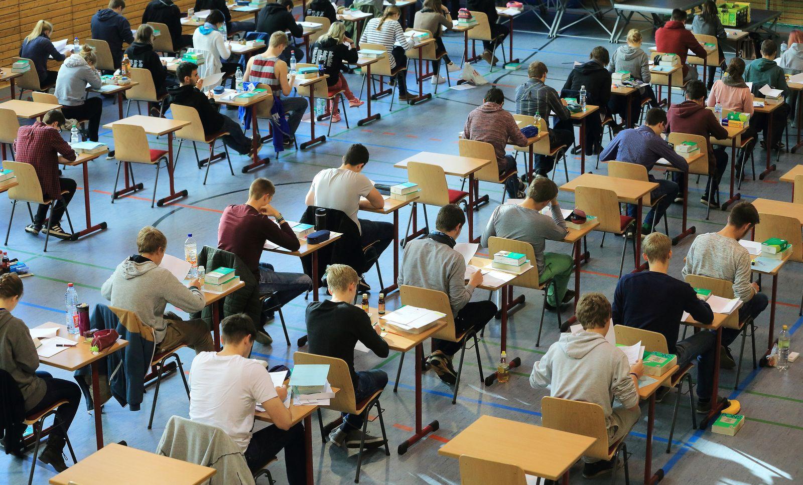 Abitur-Prüfungen