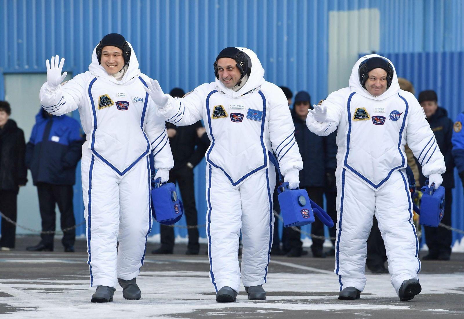 Sojus/ ISS/ Astronauten