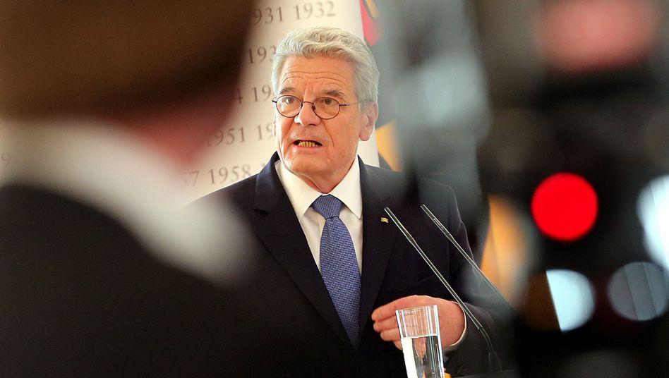 Bundespräsident Gauck: Kritik an Spiel mit der Freundschaft