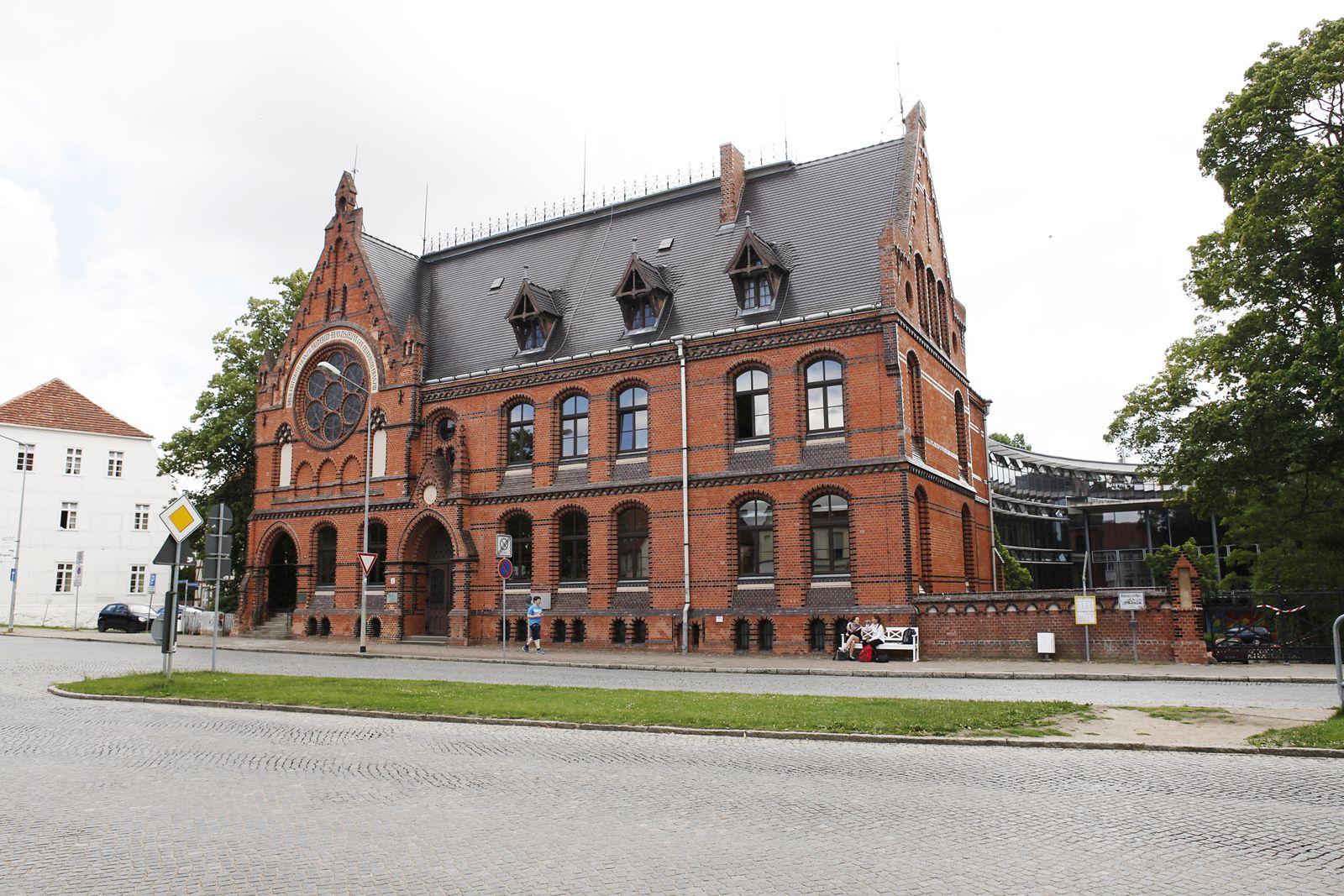 EINMALIGE VERWENDUNG Bad Doberan / Friderico-Francisceum - Gymnasium