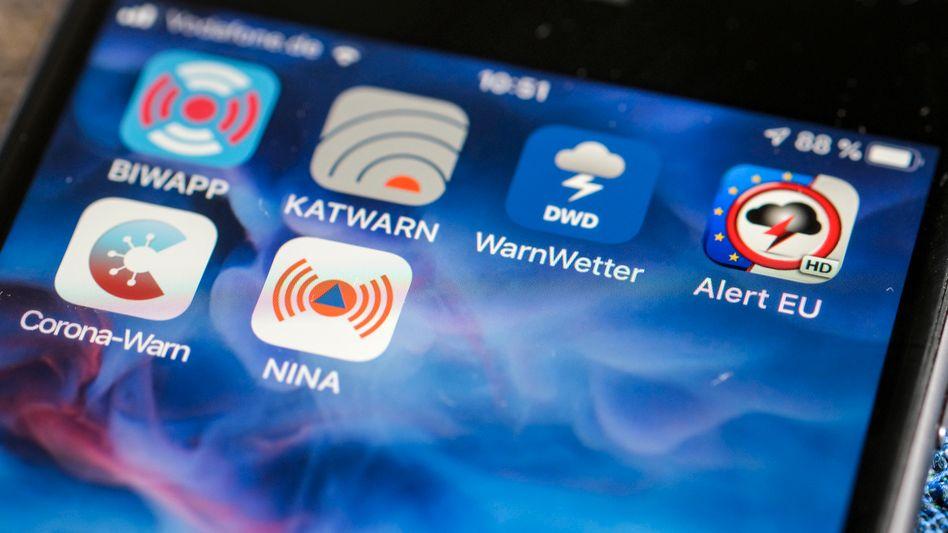 Amtliche Warn-Apps: Die Dringlichkeit der Warnung kam nicht bei allen Empfängern an