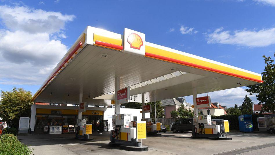 Tankstelle (in Bayern)