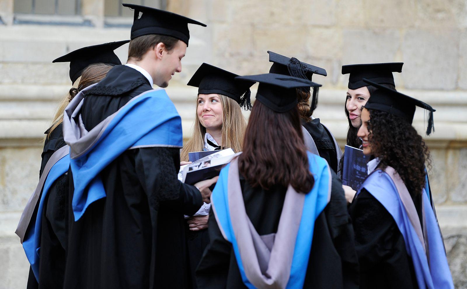 Oxford Uni / Studenten