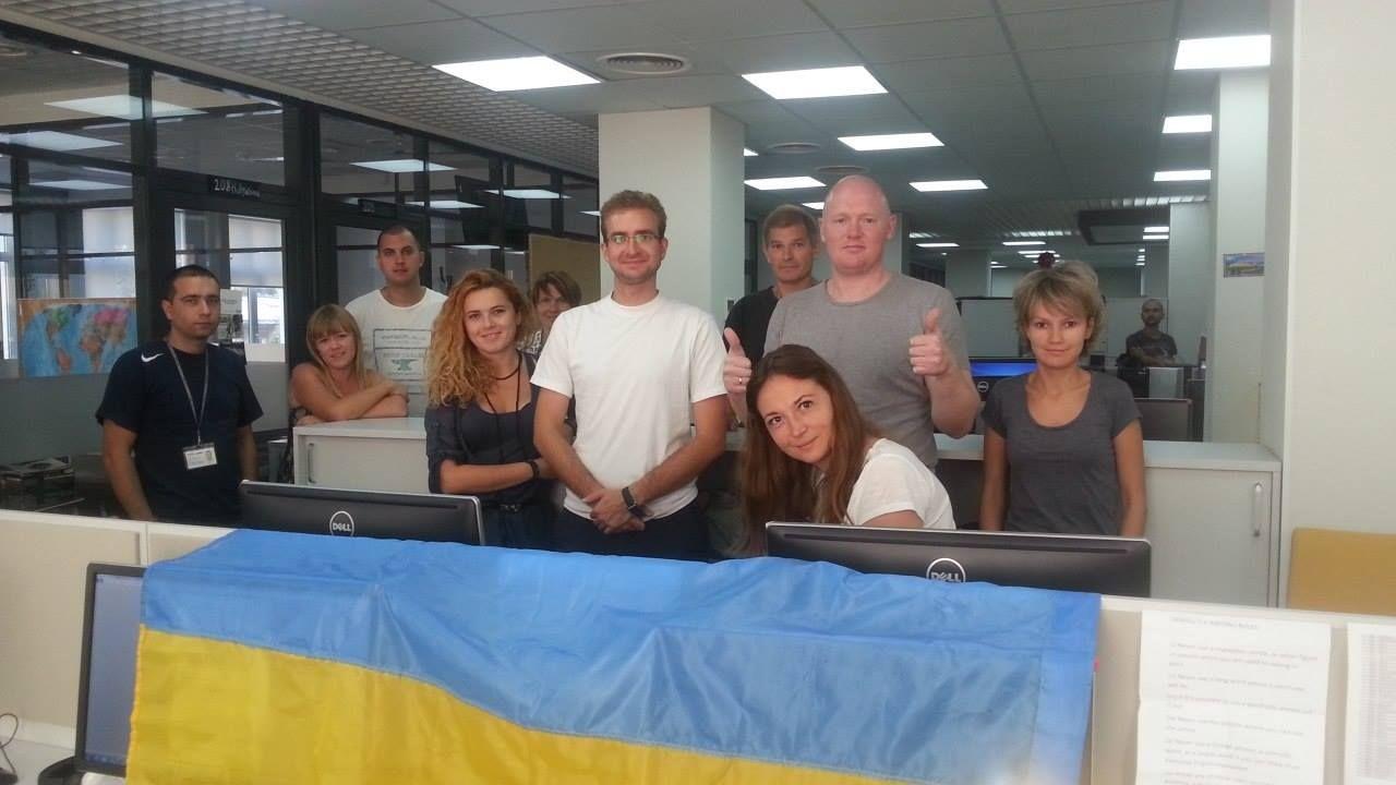 EINMALIGE VERWENDUNG Senderporträt/ Ukraine Today