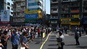 Tausende Menschen protestieren in Yangon