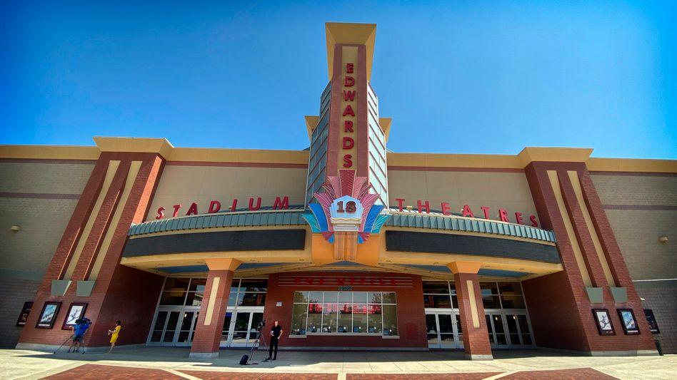 Schauplatz der Bluttat: Kino in Corona, Kalifornien