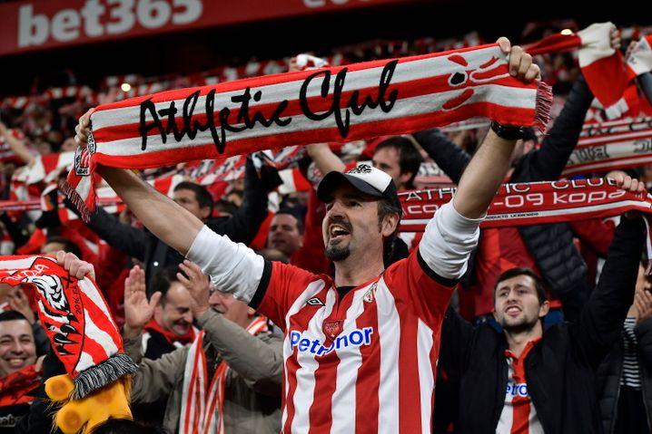 Fans von Athletic Bilbao