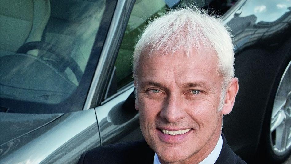 Informatiker am Steuer: Matthias Müller ist Chef von Porsche