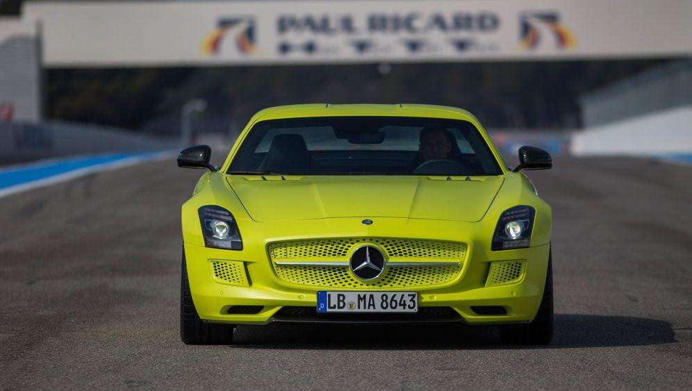 Mercedes SLS AMG electric drive: Unter Vollspannung