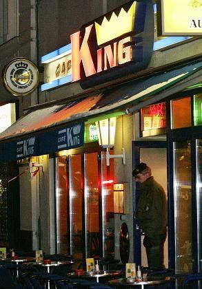 The scene of the crime: Berlin's Cafe King.