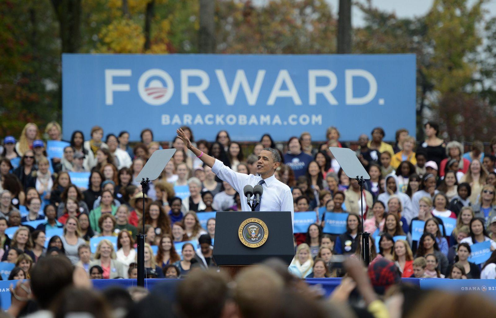 Barack Obama/Wahlkampf