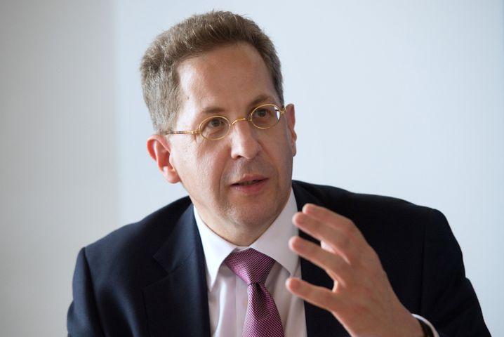 """Verfassungsschutzpräsident Hans-Georg Maaßen: """"Erhebliches Rekrutierungspotenzial"""""""