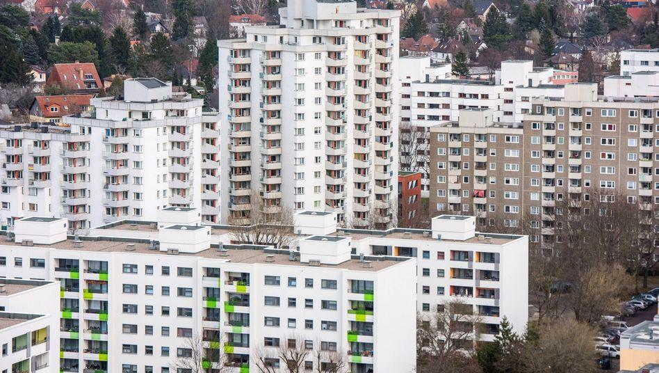 Gropiusstadt im Berliner Stadtteil Neukölln